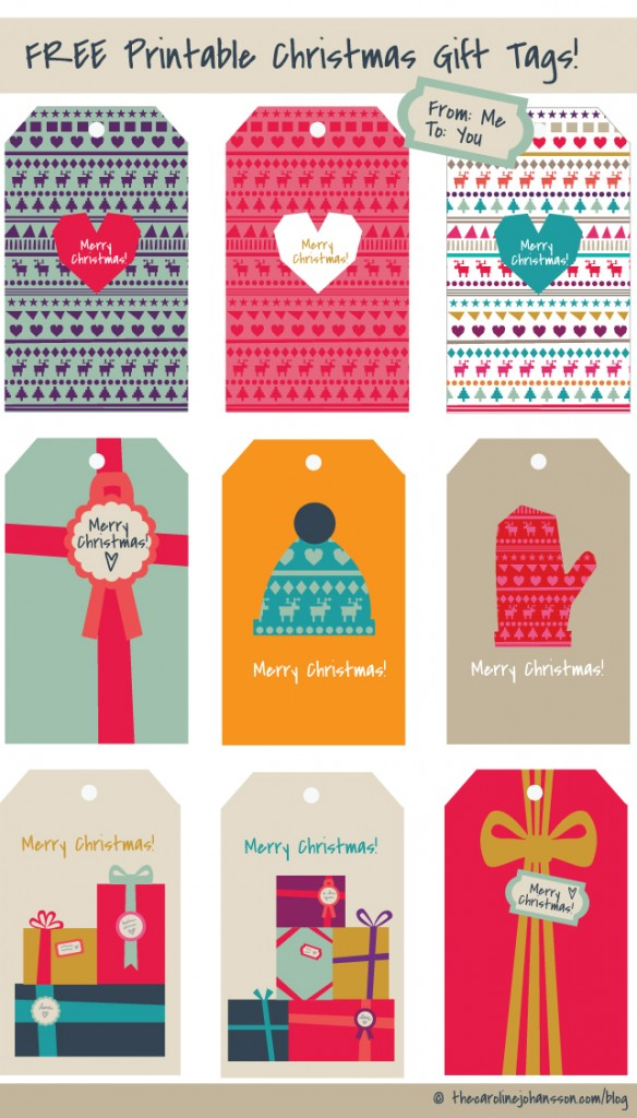 Epic image intended for holiday gift tags printable