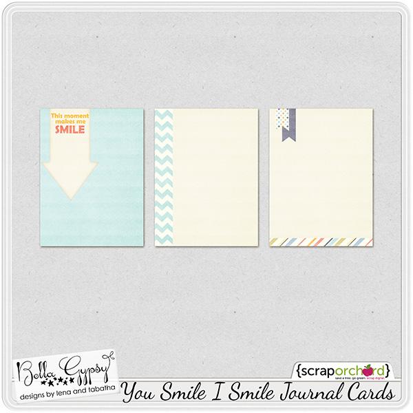 You Smile I Smile Free Journaling Cards