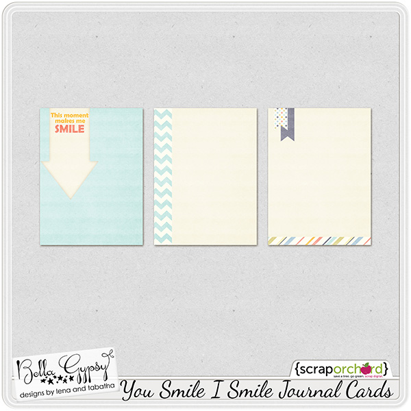 You Smile I Smile Free Journaling Cards