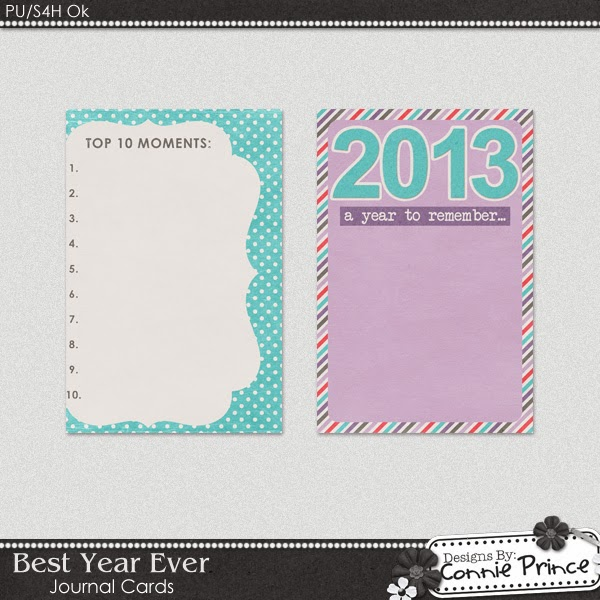Free 2013 Project Life Journaling Cards