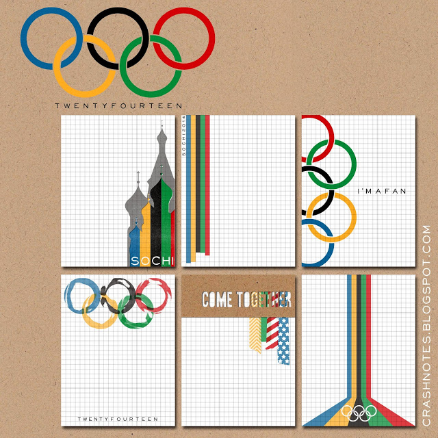 Free Project Life Olympics Sochi: 2014