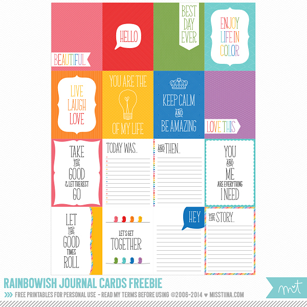 picture regarding Free Printable Journal Cards called No cost Printable Magazine Playing cards for Job Lifestyle [ Just one Velvet