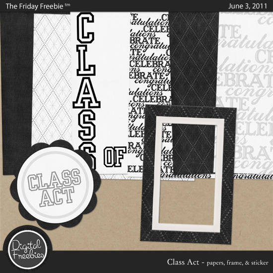 Class Act — Digital Freebies