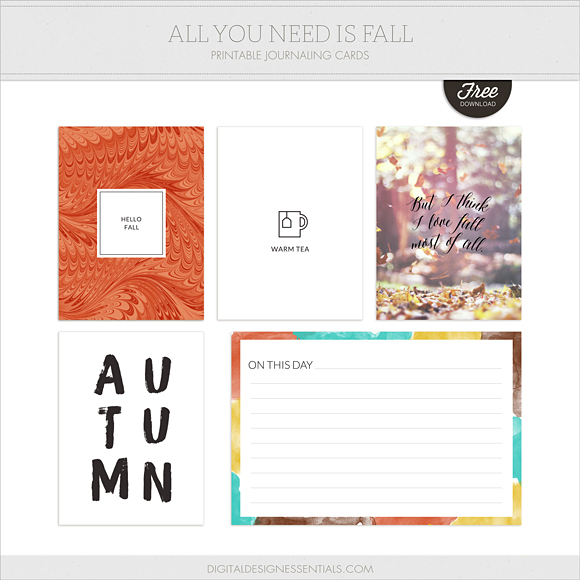 photo about Free Printable Journaling Cards identified as All Oneself Want Is Slide free of charge printable journaling playing cards [ One particular