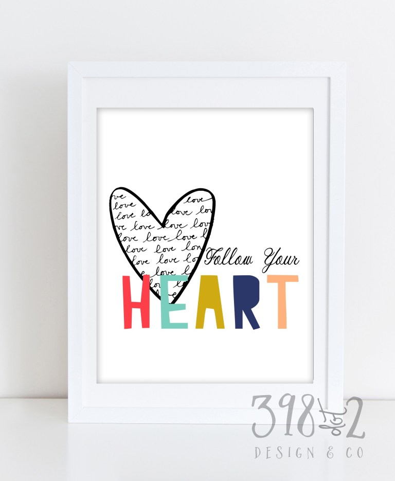 c2a9398dot2-follow-your-heart-8x10-frame