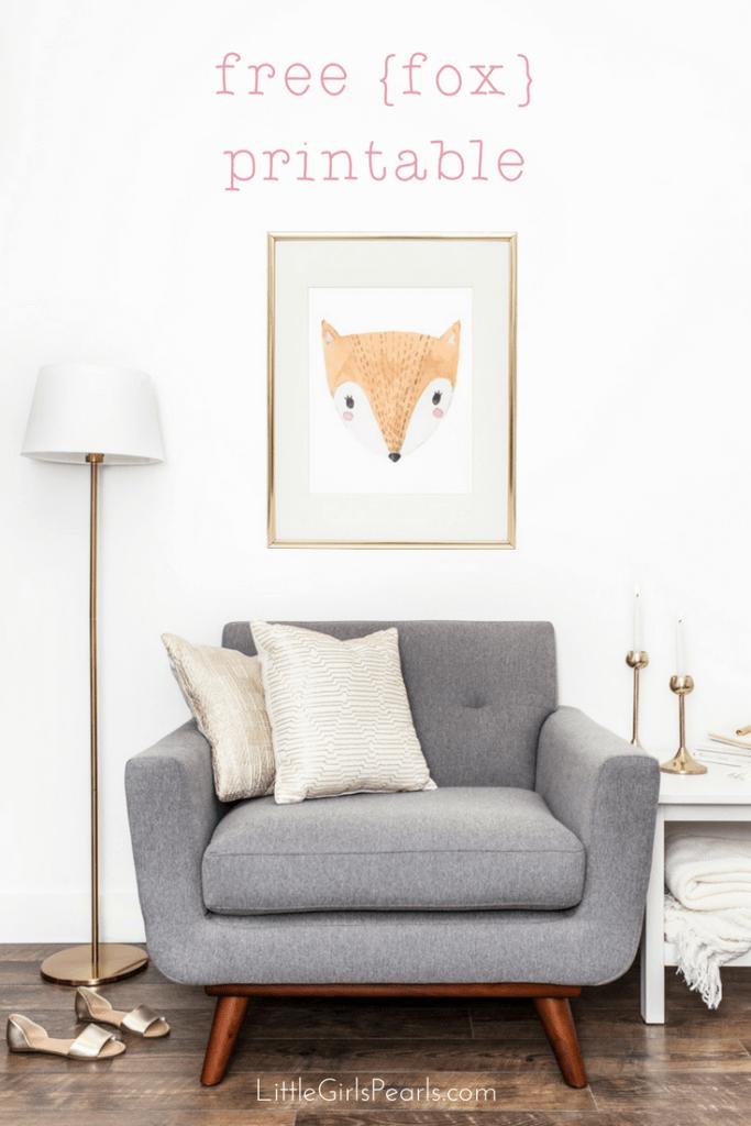 fox-printable