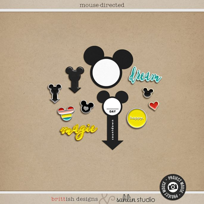Mouse Direction Arrows Freebie